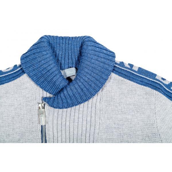 Pullover in lana grigia-599