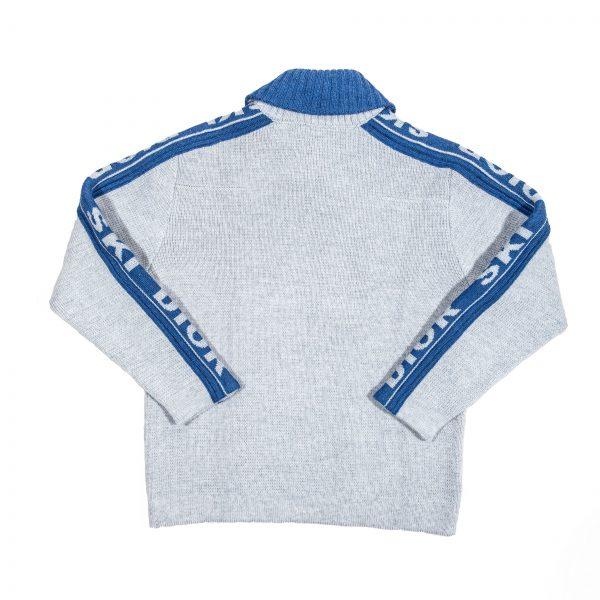 Pullover in lana grigia-598