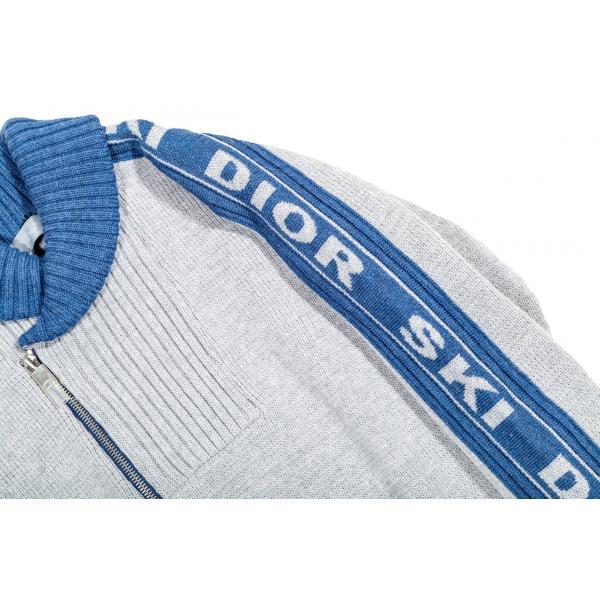 Pullover in lana grigia-600