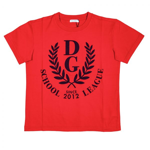 """T-shirt maschio con alloro """"Back to School""""-0"""