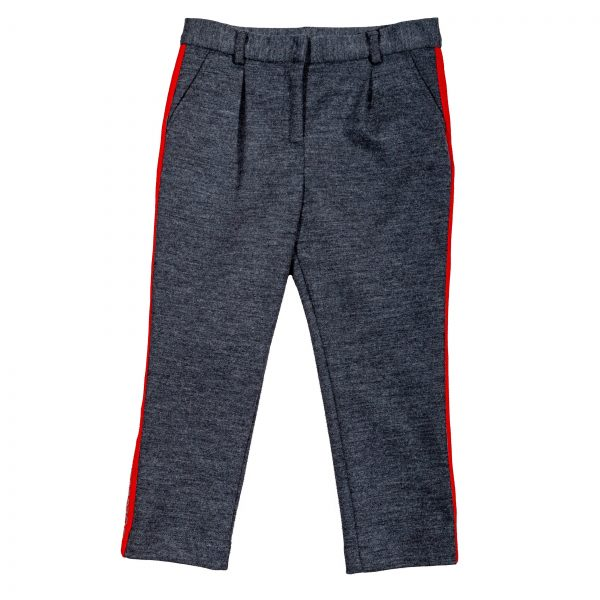 "Pantalone in lana ""Back to School""-0"