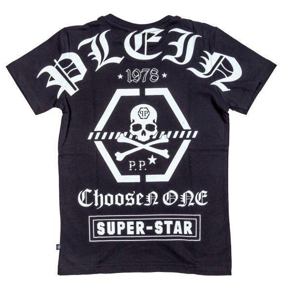 "T-shirt con logo stampato "" Coo Boy""-525"