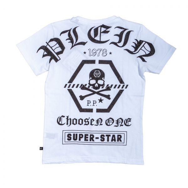 "T-shirt con logo stampato "" Coo Boy""-527"