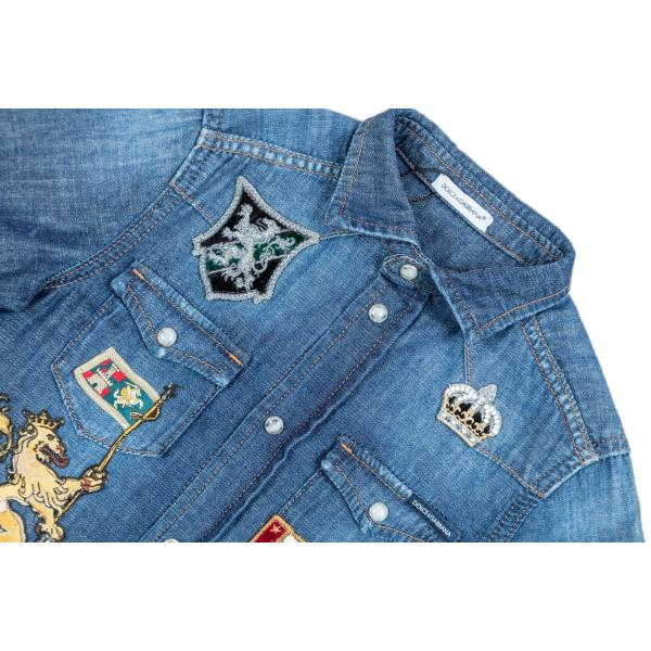 Camicia jeans manica lunga-317