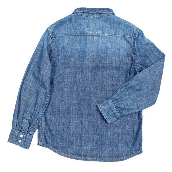 Camicia jeans manica lunga-316