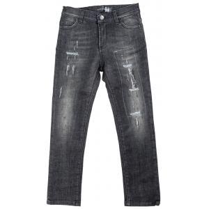 Jeans strappati slim fit stretch-0