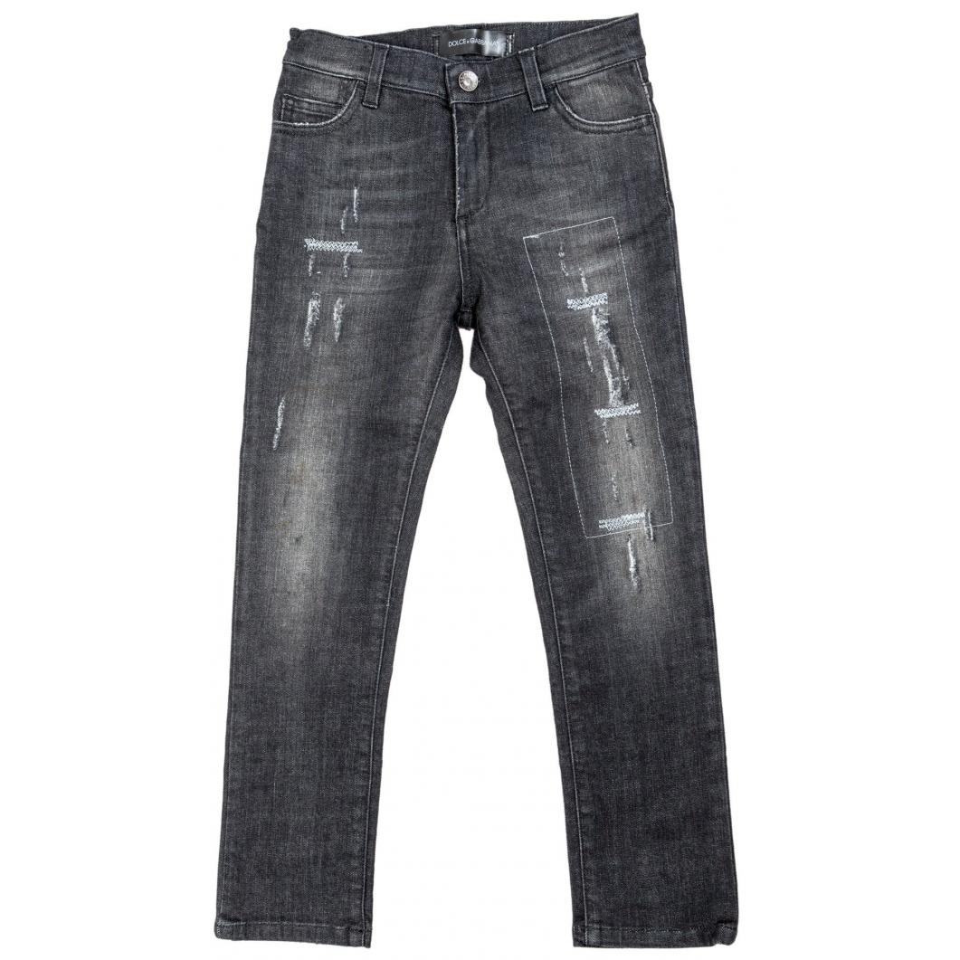 Jeans strappati slim fit stretch-0