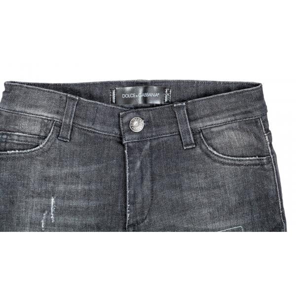 Jeans strappati slim fit stretch-322